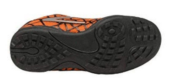 Bottom view of the Marcia kids soccer shoe outsole