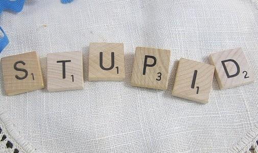 stupid spelling