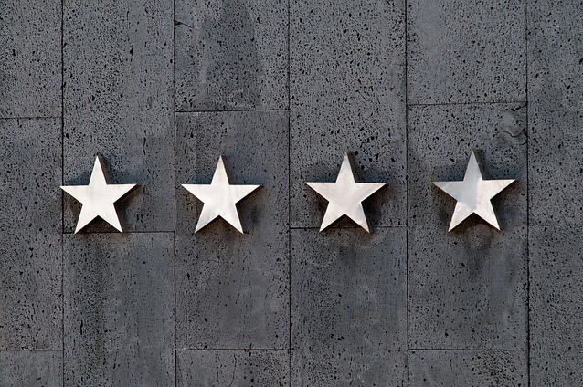 four silver star rating