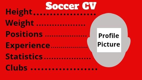 Soccer profile CV