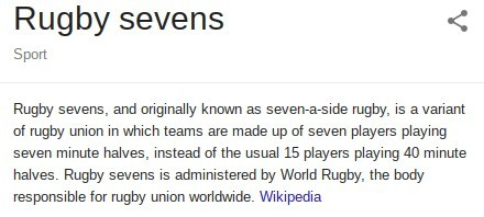 Rugby 7s explained by Wikipedia