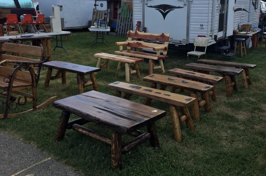 Flea Market Find Hand Crafted Furniture