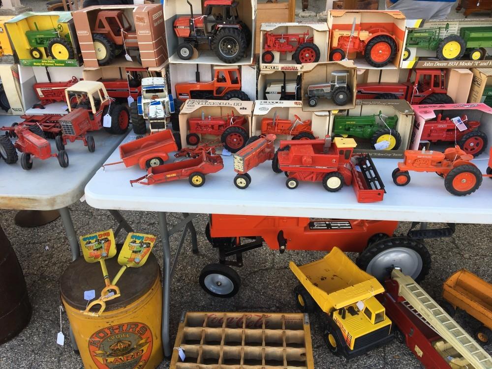 Flea Market Model Tractor Collection