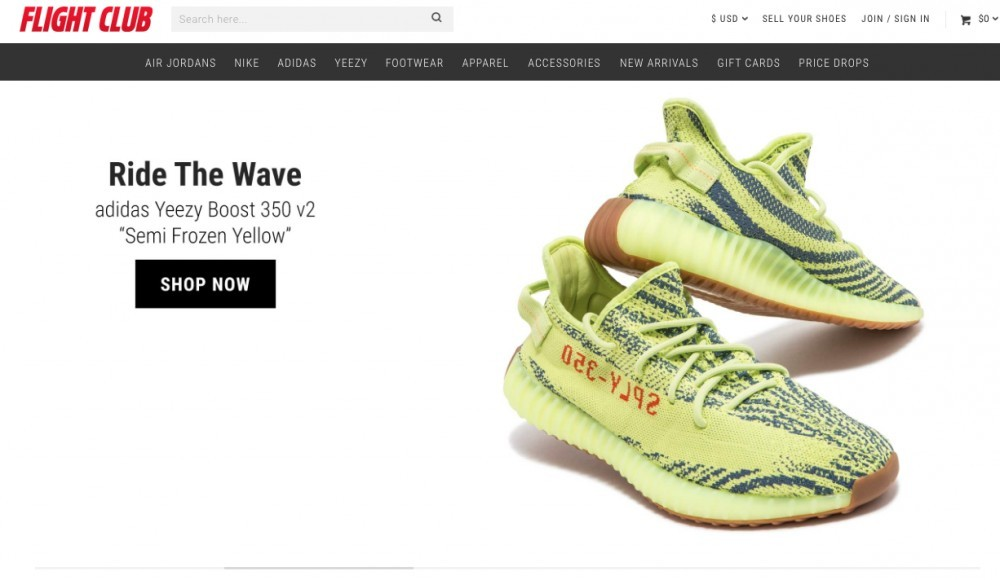 3def84283 Flight Club was founded by the entrepreneur Damany Weir in 2005. It is  considered the world s number 1 sneaker marketplace for people looking for  limited ...