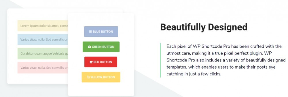 WP Shortcode Pro (beautifully designed shortcodes)