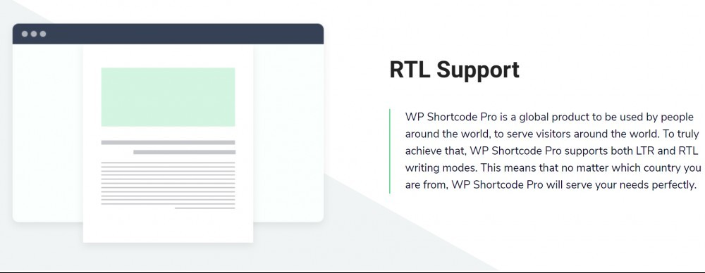WP Shortcode Pro (RTL support)