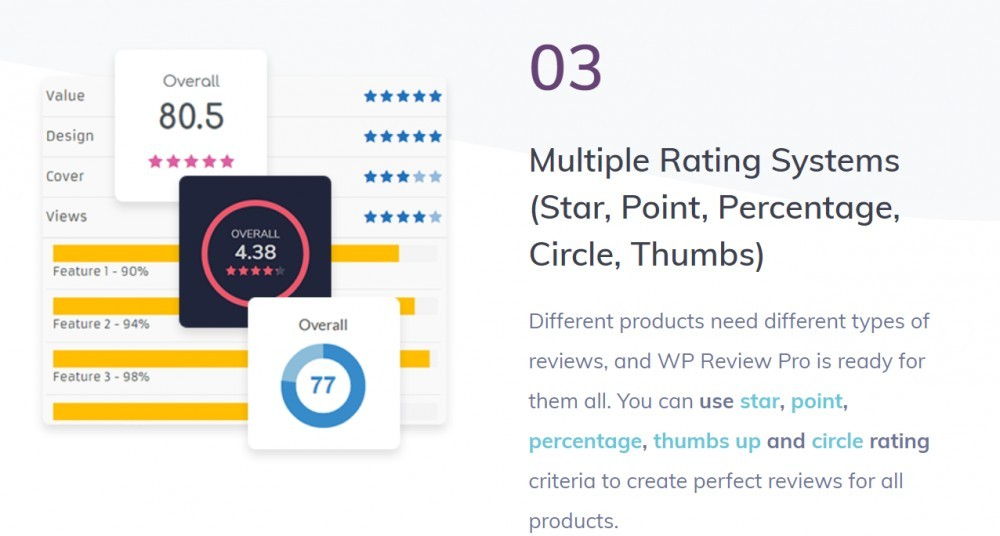 WP Review pro (multiple rating systems)
