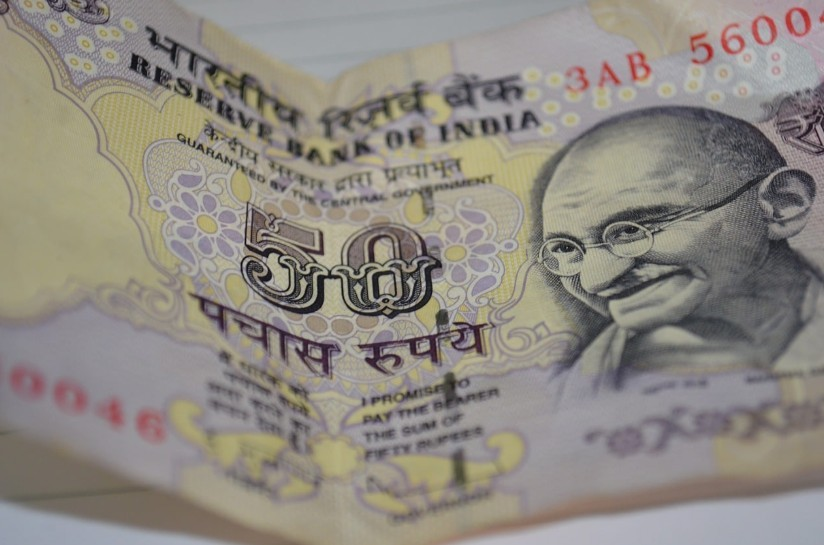 50 Indian Rupee note sample