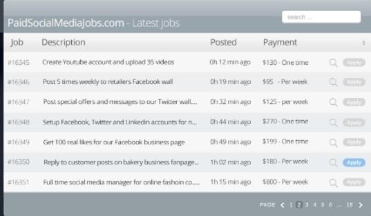 new social media jobs