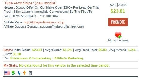 affiliate earnings