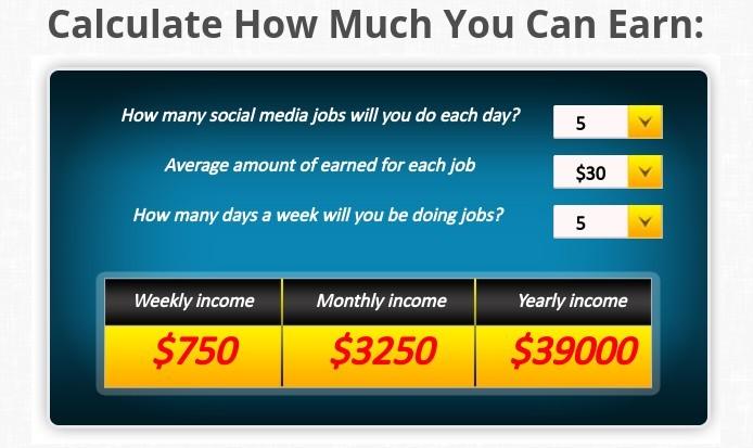 average amount earned