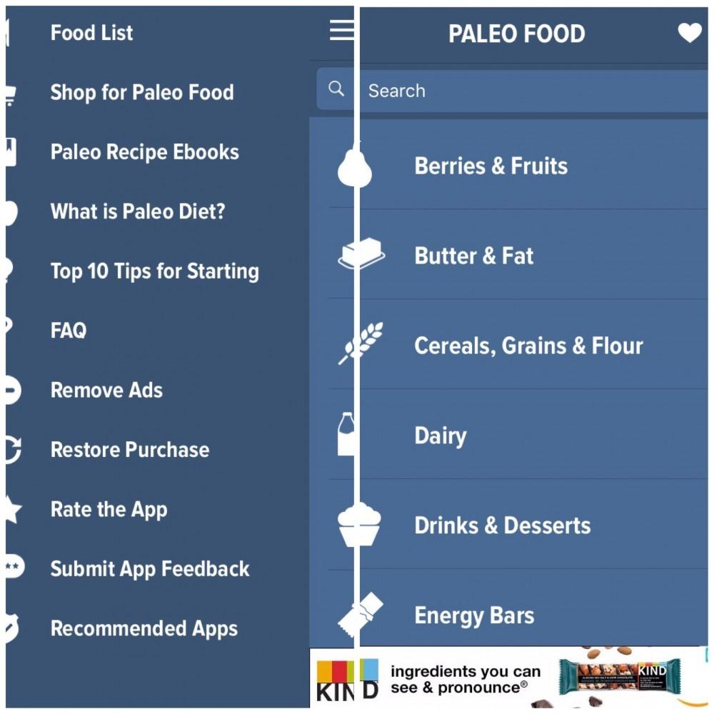best free paleo apps