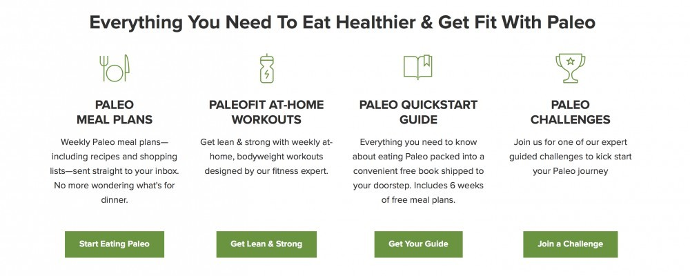 Paleo plan make a change now