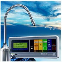 About Kangen Water Products - LEVELUK Under Counter Model unit panel