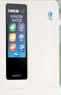 About Kangen Water Products - LEVELUK K8 machine panel