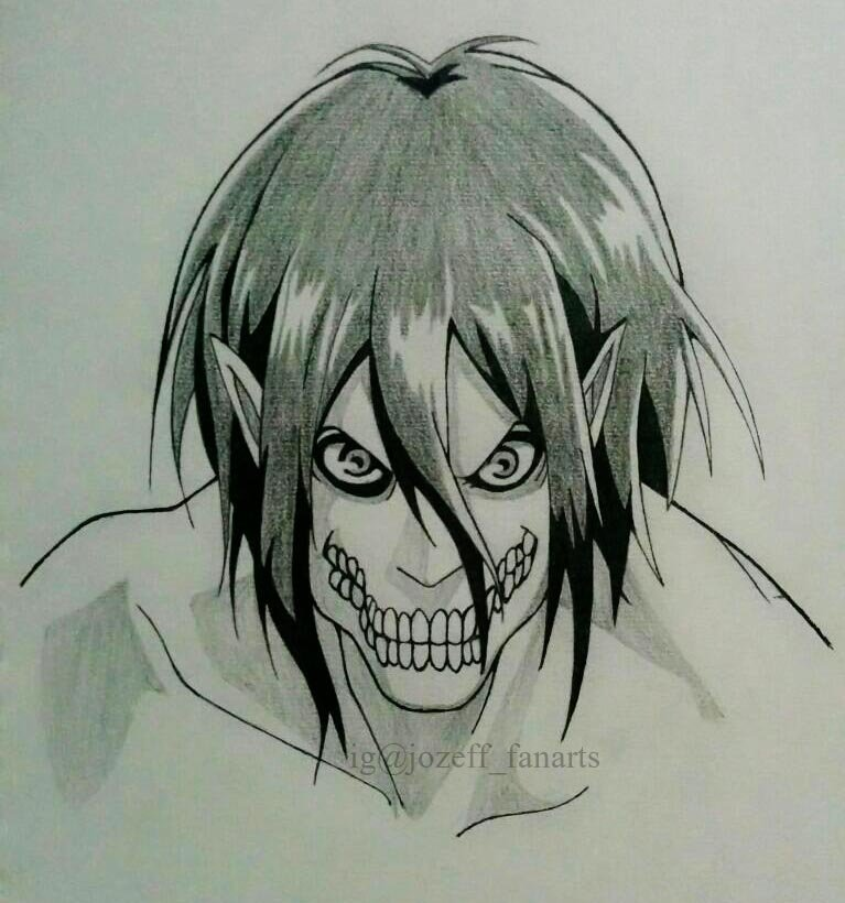 Eren jaeger drawing - photo#48