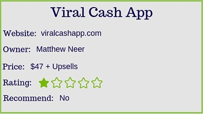viral cash application rating
