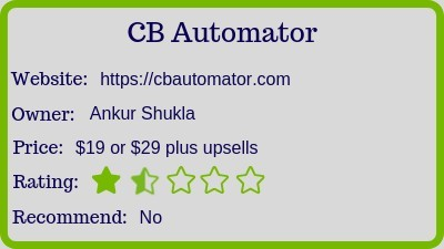 the cb automator review (rating)