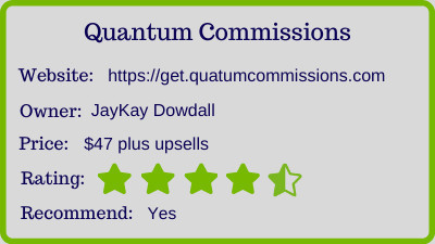 Quantum Commissions review - rating
