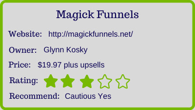 magickfunnels review - rating