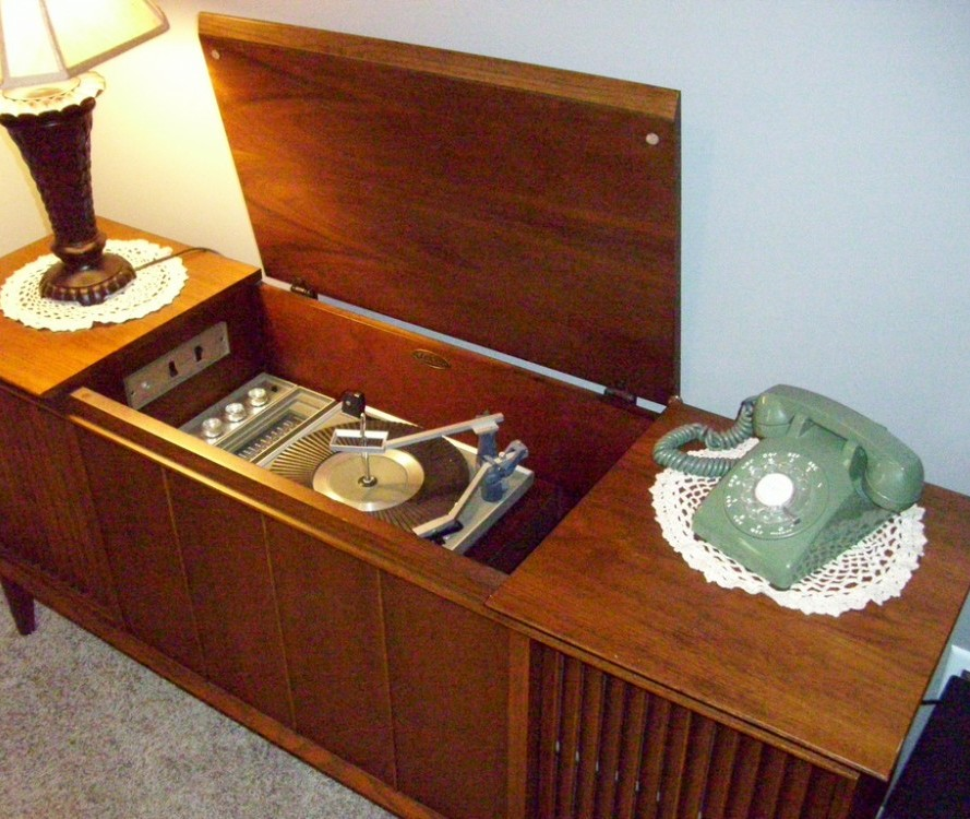 how old are baby boomers stereo cabinets?