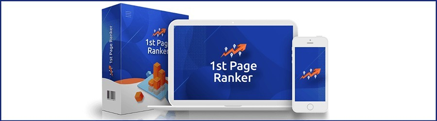 1st page ranker review with oto upsell