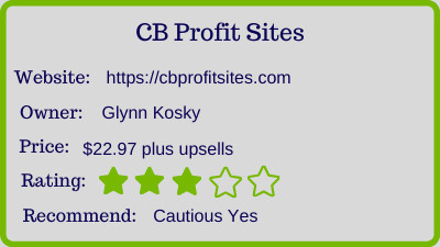 the CB Profit Sites Review - rating