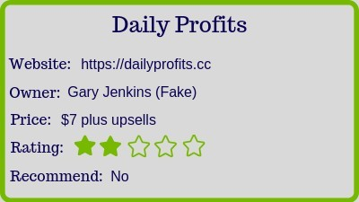 The Daily Profits review (rating)