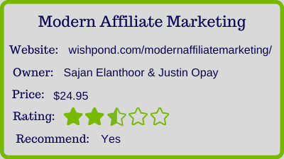 modern affiliate marketing review