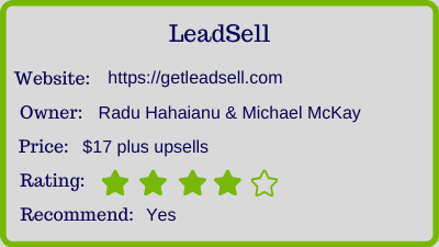 the leadsell review rating