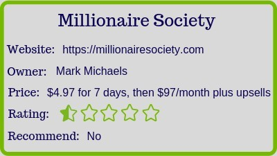 The Millionaire Society review (rating)