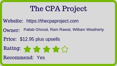 The CPA Project review (rating)