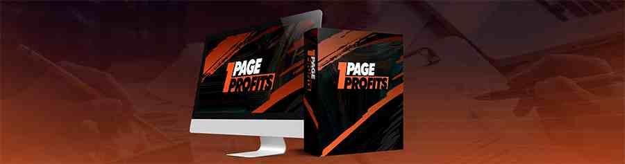 1 page profits by brendan mace