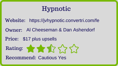 hypnotic review - rating