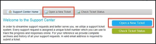 iTraffic X has ticket support