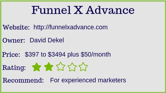 Is Funnel X Advance a scam?