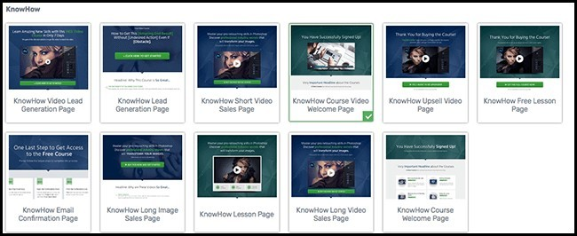 great landing page examples with Thrivethemes