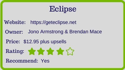 the eclipse review by brendan mace - rating