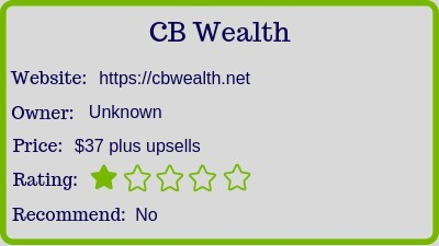 the cb wealth review - rating