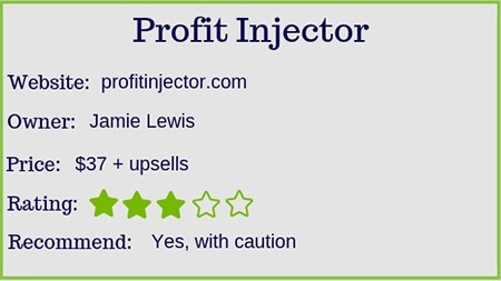 The Profit Injector rating