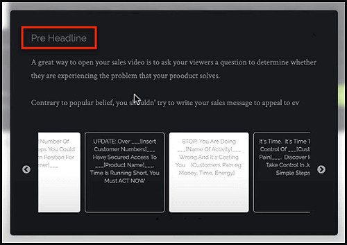 choose template for script slides
