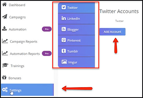 easily integrate all your accounts