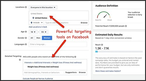 learn to use facebook's targeting tools