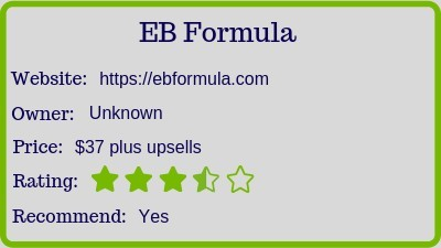 The Eb Formula review rating