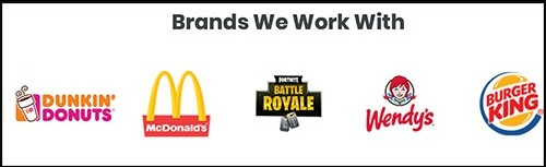 they don't work with these brands