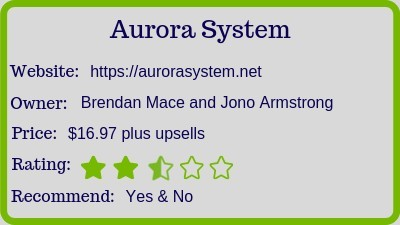 Aurora System (Review) rating