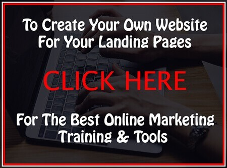 my wealthy affiliate landing page link picture