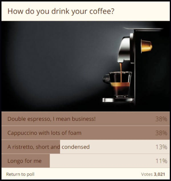 survey landing page examples
