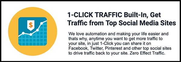 traffic comes from social media