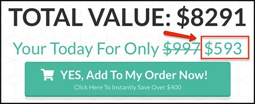 liams 6 figure affiliate bootcamp is at a big discount of $593